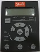 VLT® Control Panel LCP 21, numerisk