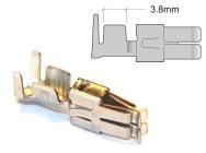 Crimp-klemmer, 2,5–4,0mm2, 25 stk.